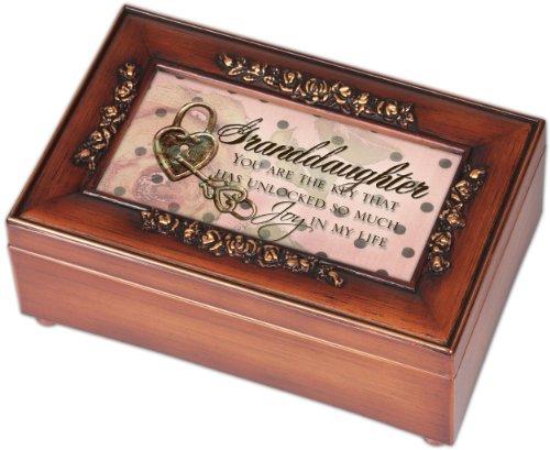 Childrens Music Box (Cottage Garden Petite Rose Granddaughter Music)