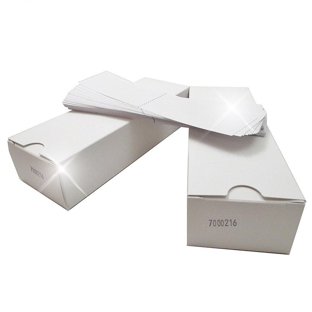 (Money Saver Twin Pack) 1200 Labels Preferred Postage Supplies Ultra Neopost/Hasler 7'' x 1-9/16'' is/IM IJ/WJ Series Postage Meter Half Tapes Neopost 7465593 Hasler 9004020 by Preferred Postage Supplies