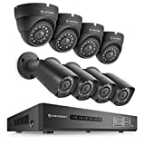 Amcrest UltraHD 4MP 8CH Video Security System - Eight 3840TVL 4.0-Megapixel Weatherproof IP67 Bullet & Dome Cameras, NO HDD Included, HD Over Analog/BNC, Smartphone View (Black)