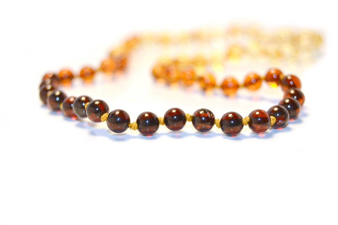 The Art of Cure Baltic Amber Necklace 25 Inch (rainbow) - Anti-inflammatory by The Art of Cure