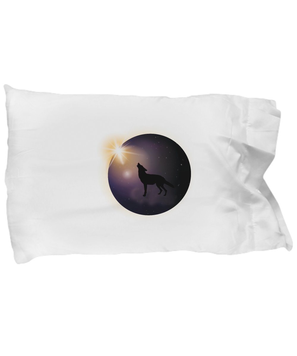 Pillow Covers Design Total Solar Eclipse August 2017 Funny Dog Gift Pillow Cover Ideas