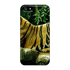 Bernardrmop Snap On Hard Case Cover Perchedbengaltiger Protector For Iphone 5/5s