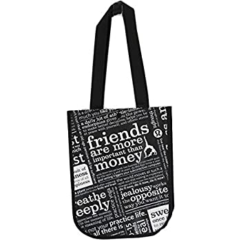 Amazon.com: Lululemon Black Manifesto Small Reusable Tote