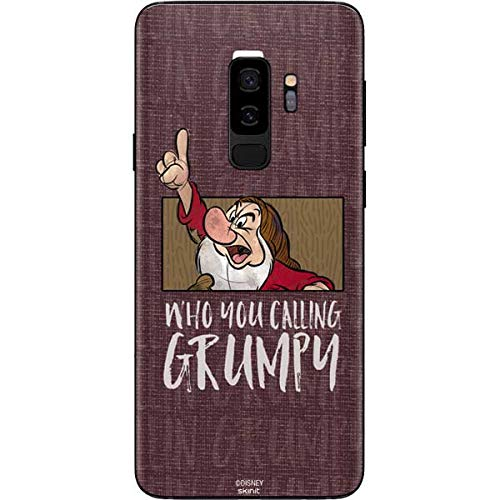 Skinit Snow White Grumpy Galaxy S9 Plus Skin - Officially Licensed Disney Phone Decal - Ultra Thin, Lightweight Vinyl Decal Protection