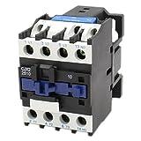 Baomain AC Contactor CJX2-2510 110V Coil 50Hz 40A DIN Rail 3P Three Pole Normally Open(NO)