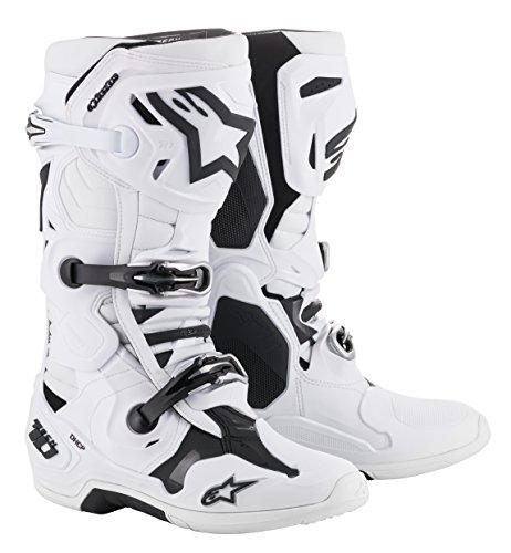 Tech 10 Off-Road Motocross Boot (11 US, White)