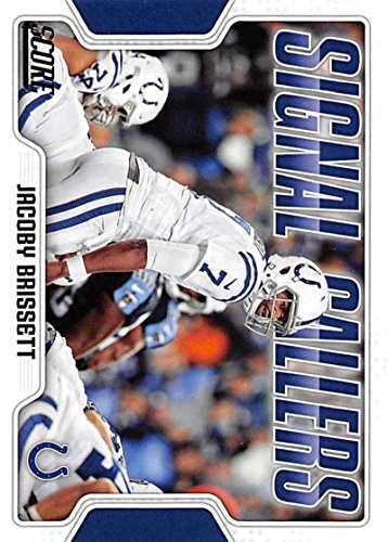Indianapolis Colts Football Card - 2018 Score Signal Callers #13 Jacoby Brissett Indianapolis Colts Football Card