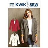 Kwik Sew K3715 Blazers Sewing Pattern, Size XS-S-M-L-XL by KWIK-SEW PATTERNS