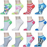 AirStep calcetines atléticos invisibles para mujer, paquete de 12