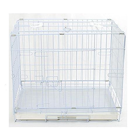 Jaula Transportín Box para perros plegable con rejilla fondo S 60 ...
