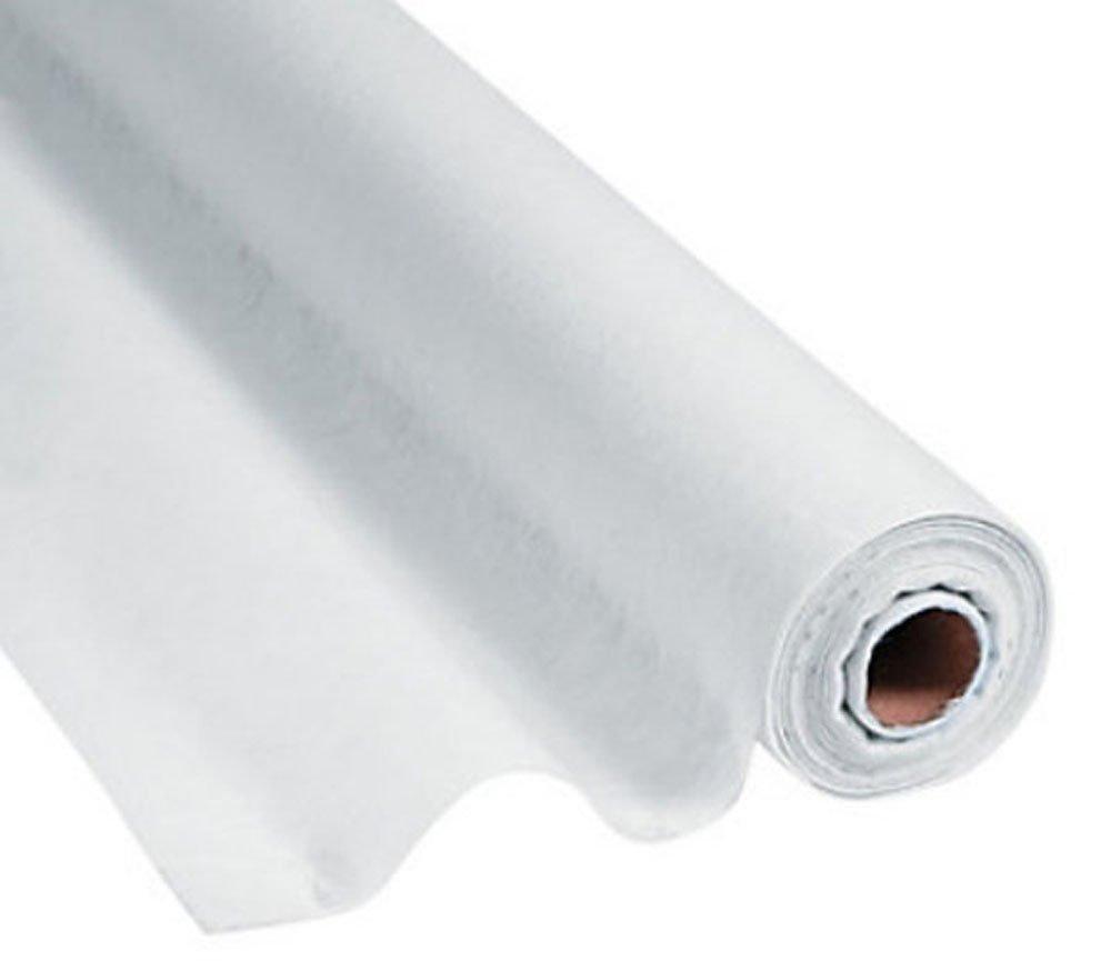 100 FT x 3 FT White Gossamer Roll Wedding Aisle Runner Draping Party Decor Decoration