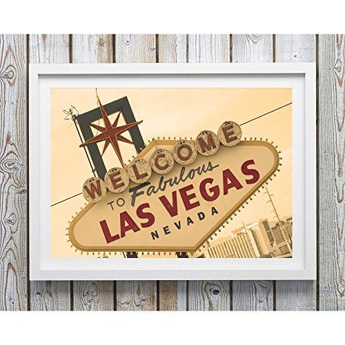 Welcome to Las Vegas, Las Vegas Strip, Las Vegas Print, Nevada Decor, Photography, Fine Art Photo, Sign Photo, Las Vegas Sunset, Retro - Las Premium North Vegas