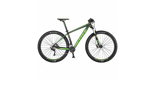 Scott - Bicicleta de montaña Scale 760, negro: Amazon.es: Deportes ...