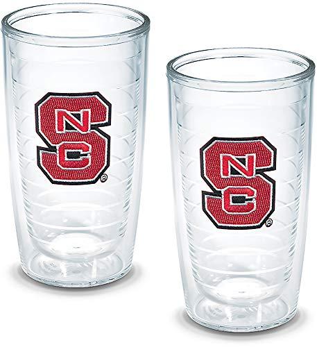 (Tervis North Carolina State University Emblem Tumbler (Set of 2), 16 oz, Clear - 1005897)