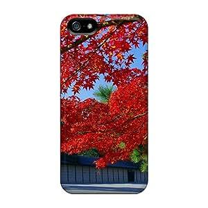 HnX9729esKJ BeverlyVargo Red Tree Japan Durable Iphone 5/5s Cases