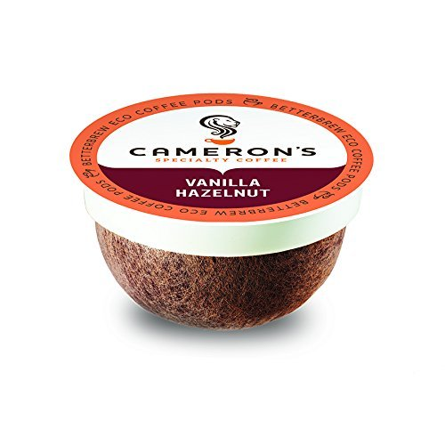 Cameron's Coffee Single Serve Pods, Flavored, Vanilla Hazelnut, 18 Count