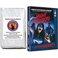 AtmosFearFX Night Stalkers Halloween DVD and Reaper Brothers High Resolution Window Projection Screen