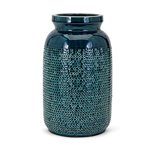 Embossed Blue Dots - CC Home Furnishings 13