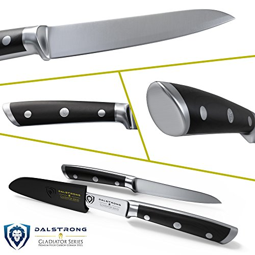 DALSTRONG Paring Knife - Gladiator Series Paring Knife - German HC Steel - 3.75'' by Dalstrong (Image #1)