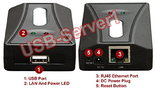 Premium USB Printer Server + USB Device Sharing Over LAN