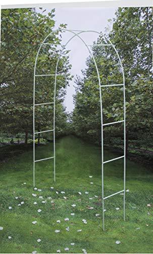 Darice 5 209-05 boda G decorativo del arco Tubular, 228,6 cm, blanco