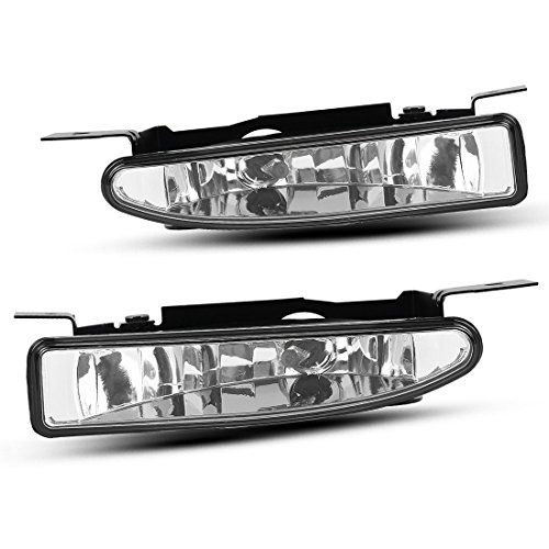 Buick Regal Light - AUTOSAVER88 Factory Style Fog Lights For Buick Regal 1997-2004 Century 1997-2005 (Clear Lens with Bulbs)