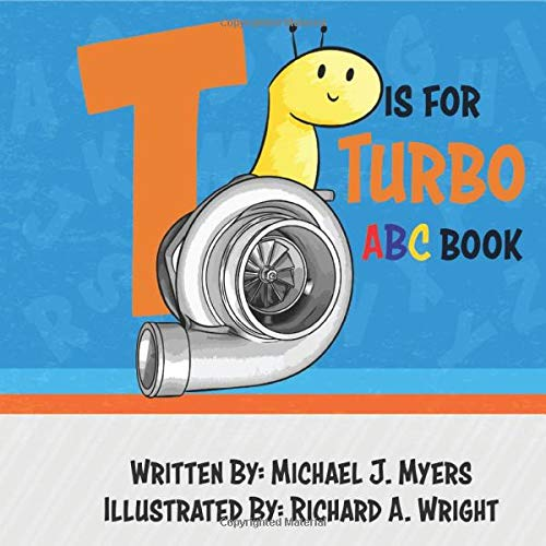 Turbo ABC Book Motorhead Garage