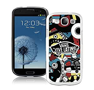 Beautiful Unique Designed Samsung Galaxy S3 I9300 Cover Case With vans 3 White Phone Case
