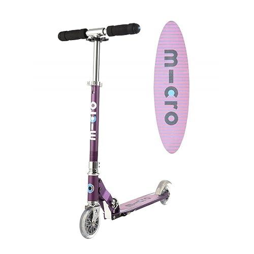 Micro Scooter Sprite Lila mit Streifen