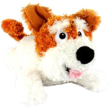 Chuckle Buddies Short Ear Terrier Dog Electronic Plush