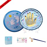 Baby Handprint Kit-Unique Shower Gifts with Non Toxic Clay, Memorable keepsake/Nursery Kit for New Baby/Parents,Perfect for Nursery Room,Bedroom,Living Room