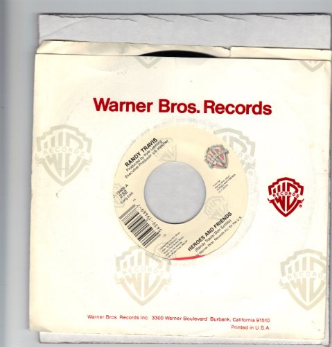 TRAVIS, Randy/Heroes And Friends/45rpm record (Dickens Dress)