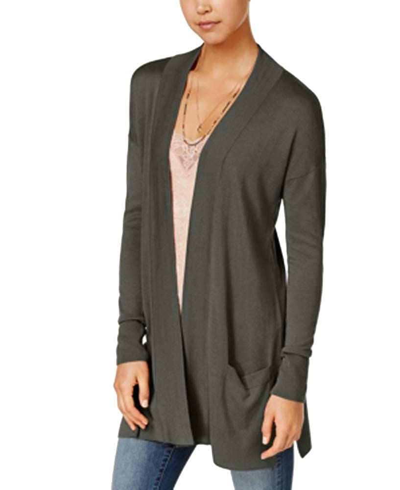 Hippie Rose Juniors Open-Front Duster Cardigan