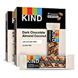 KIND Bars, Dark Chocolate Almond Coconut, Gluten Free, 1.4 Ounce Bars, 24 Count