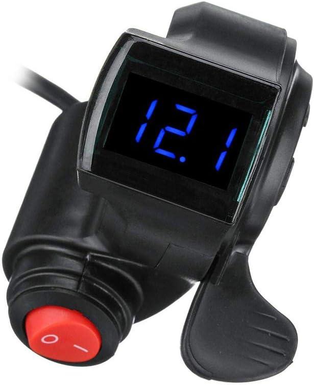 Ebike Thumb Throttle For Electric Bike Scooter Thumb Throttle 12//24V//36V//48//72v