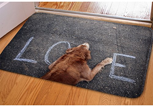Stylish Manhole Covers Heart Print Doormat For Home Balcony Sliding Door Entrance Mat Non-slip Soft Flannel Surface Bedroom Porch Entryway Indoor Door Mat Rectangle Flat Small Area Rug (Manhole Cover Rug)