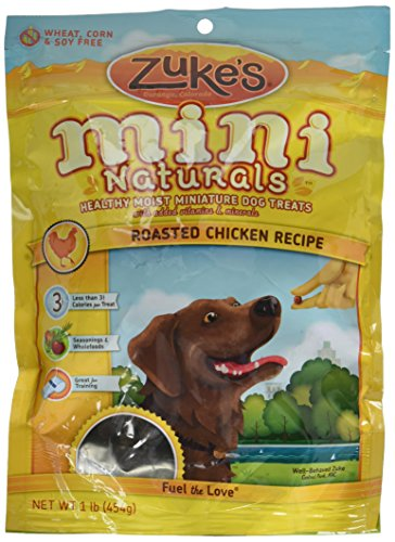 Zuke'S Mini Naturals Treats Chkn 1lb