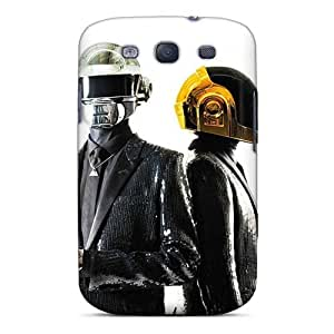 Great Hard Cell-phone Case For Samsung Galaxy S3 (bYH3263RiJB) Customized Vivid Daft Punk Band Series