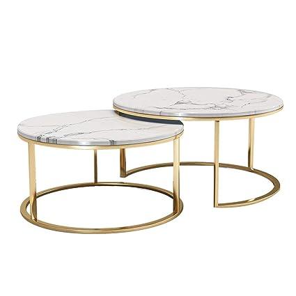 Nido de 2 mesas Mesas Nido de mármol Mesa de Centro Mesa ...