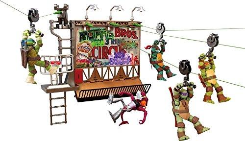 Tortugas Ninja - Playset Z Line Cartelera de escape (Giochi Preziosi 95050)