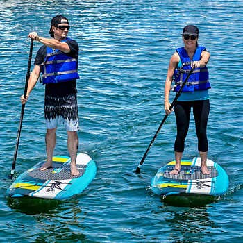 Wavestorm 9′ 6″ Stand Up Paddle Board Review 1