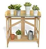 VYTAL Folding Potting Bench / Event Table (Natural)