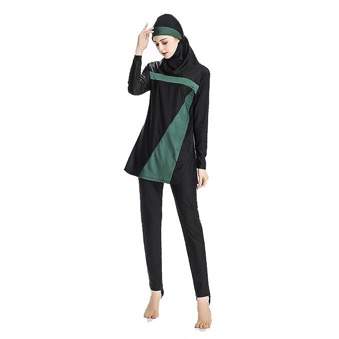 Amazon.com: Mr Lin123 Trajes de baño musulmanes para mujer ...