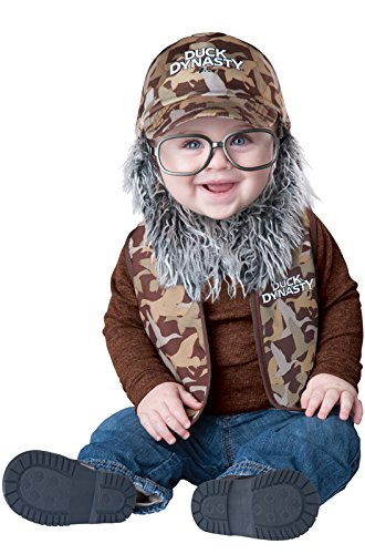 Duck Dynasty Baby Boy's Uncle Si Costume, Camouflage, (Duck Dynasty Si Costumes)