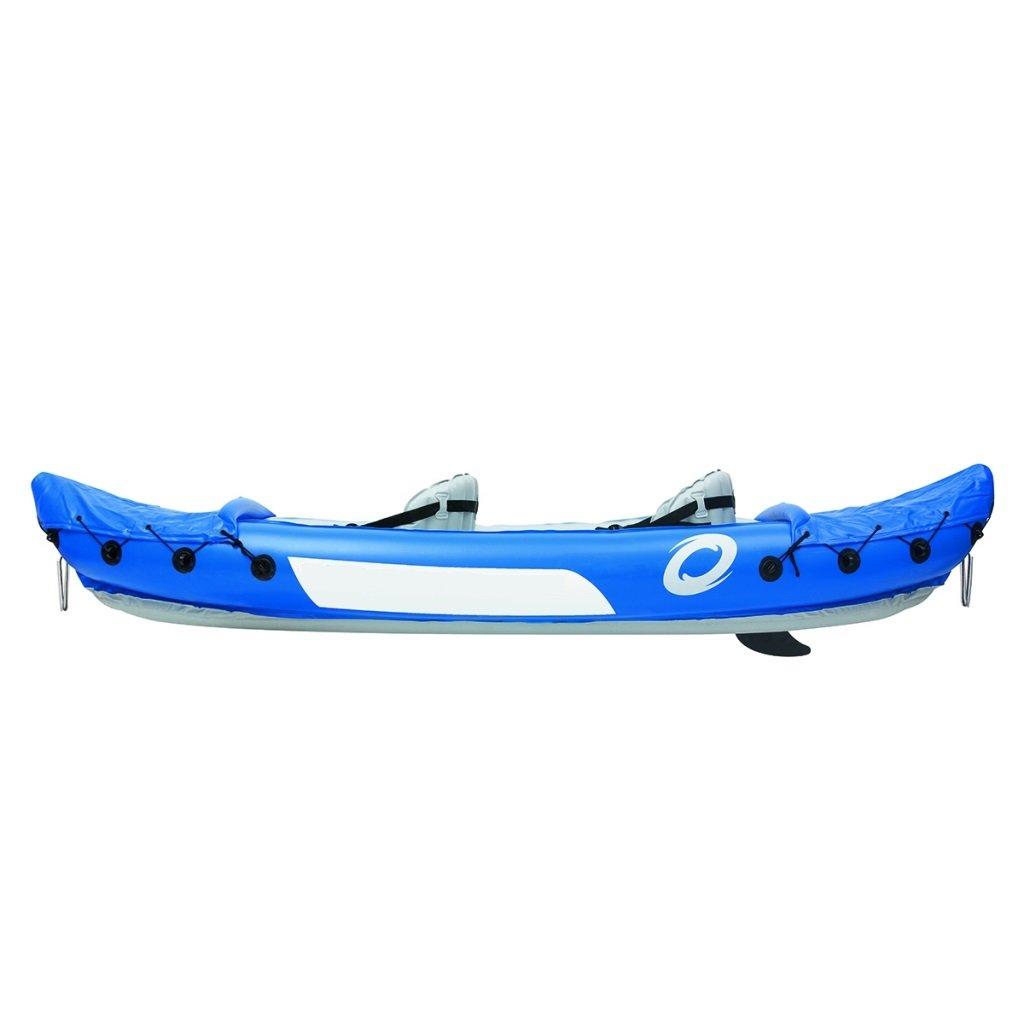 Festnight - Kayak hinchable con 2 remos incluidos para 2 ...