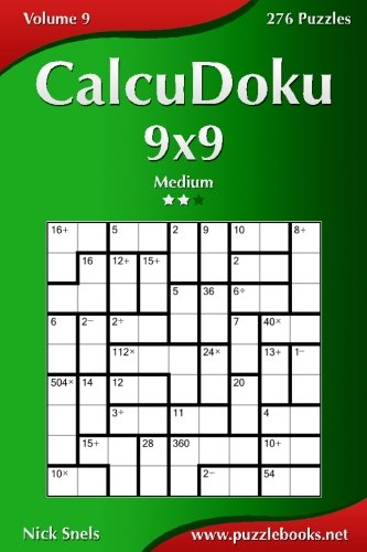 Download CalcuDoku 9x9 - Medium - Volume 9 - 276 Puzzles pdf
