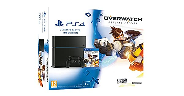 PlayStation 4 (PS4) - Consola 1 Tera + Overwatch: Amazon.es ...