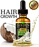 Hair Growth Serum. Premium anti hair loss. Protects hair from split end. This coconut hair oil is an anti dandruff and hair moisturizer with vitamin E and sexy smell. MADE IN USA.