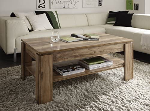 Amazon Com Furnline Trendteam Ct11245 Coffee Table Nussbaum Satin