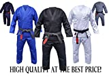 Your Jiu Jitsu Gear Brazilian Jiu Jitsu Premium Black BJJ Uniform A3